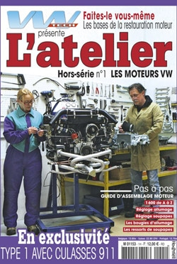 VW Tech Hors Serie Atelier Moteur Aircooled | BeCombi