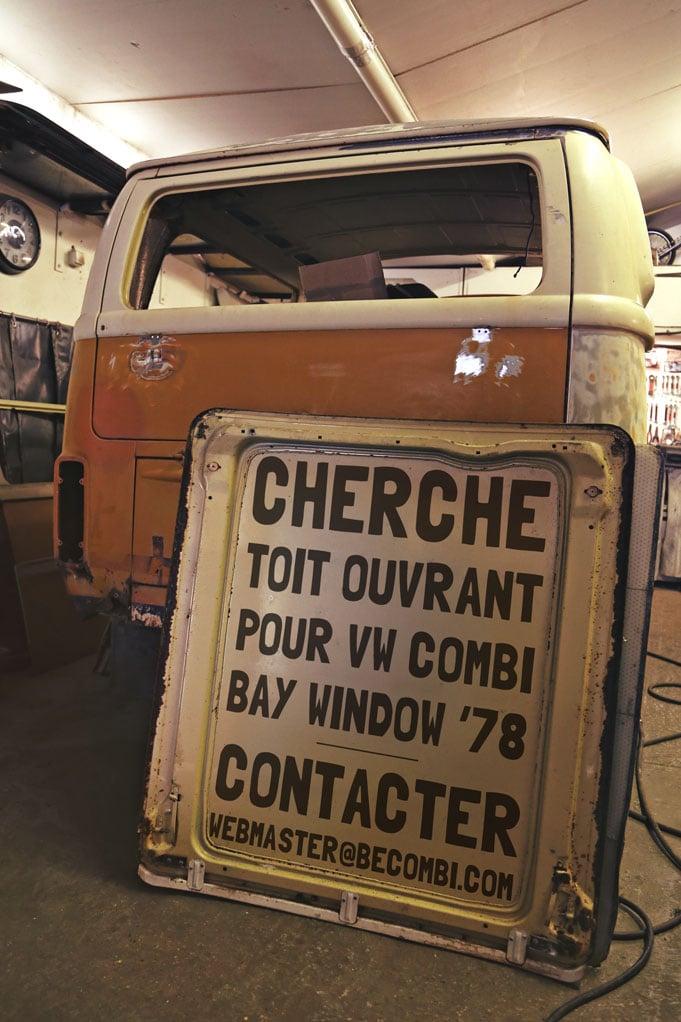 Cherche Toit Ouvrant pour VW Combi | BeCombi
