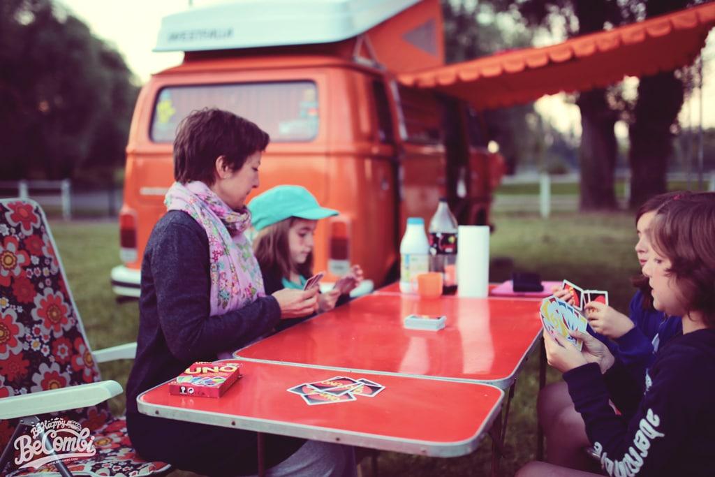 Soirée Camping en VW Combi | Be Combi