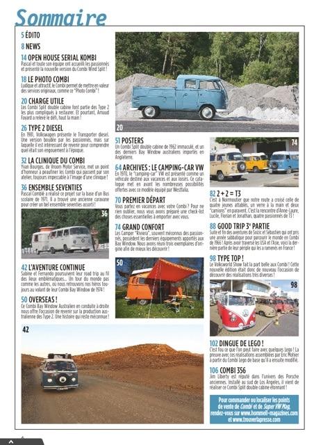 Combi Magazine #13 : un numéro spécial Camper | BeCombi