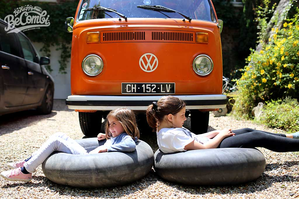 Changement pneus VW Bay Window| Be Combi