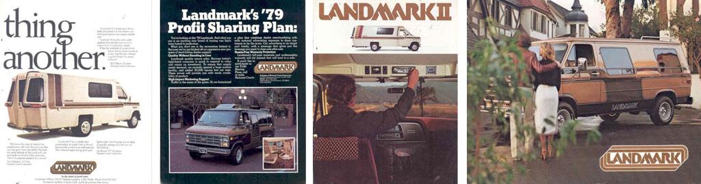 Quelques exemples de conversions Landmark sur des Vans US