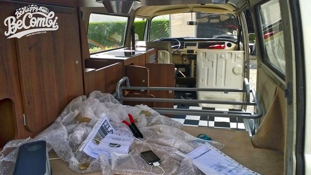 Chérie, j'ai transformé le Combi en camper van ! | Be Combi
