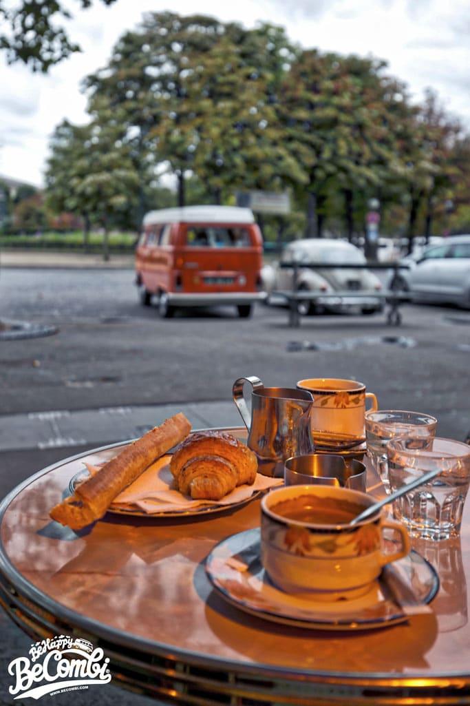 Un Dimanche à Paris en VW Combi  | Be Combi