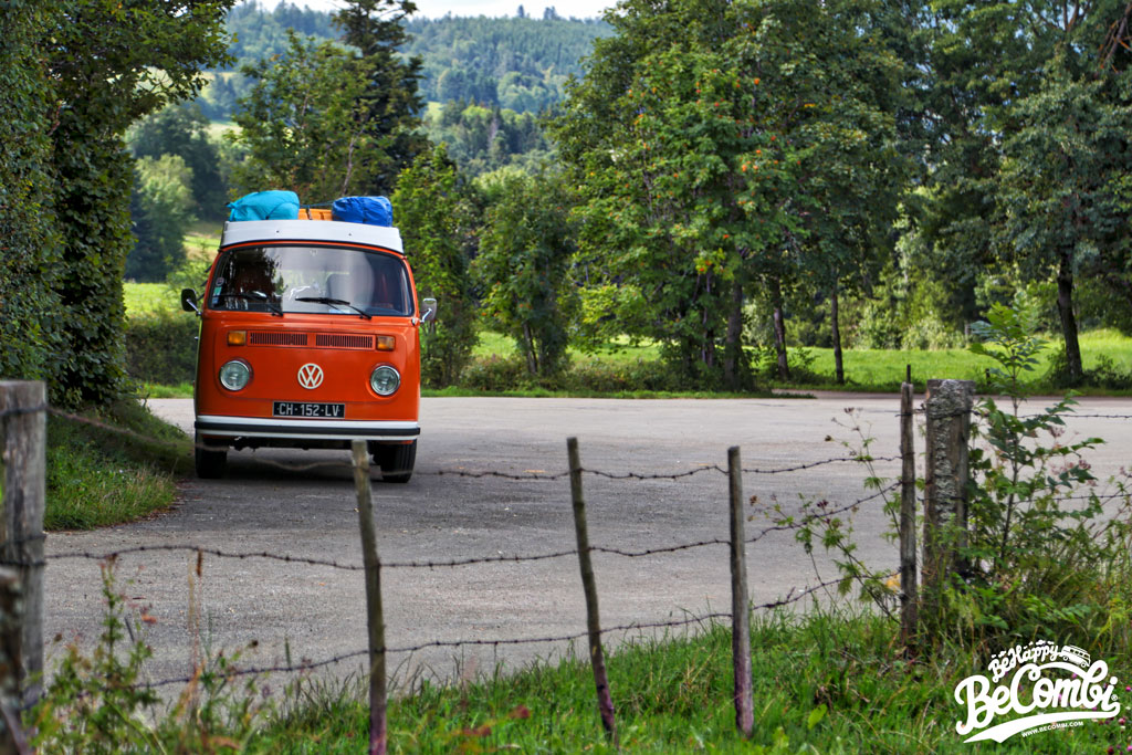 Vacances en VW Combi en Franche Comté - BeCombi