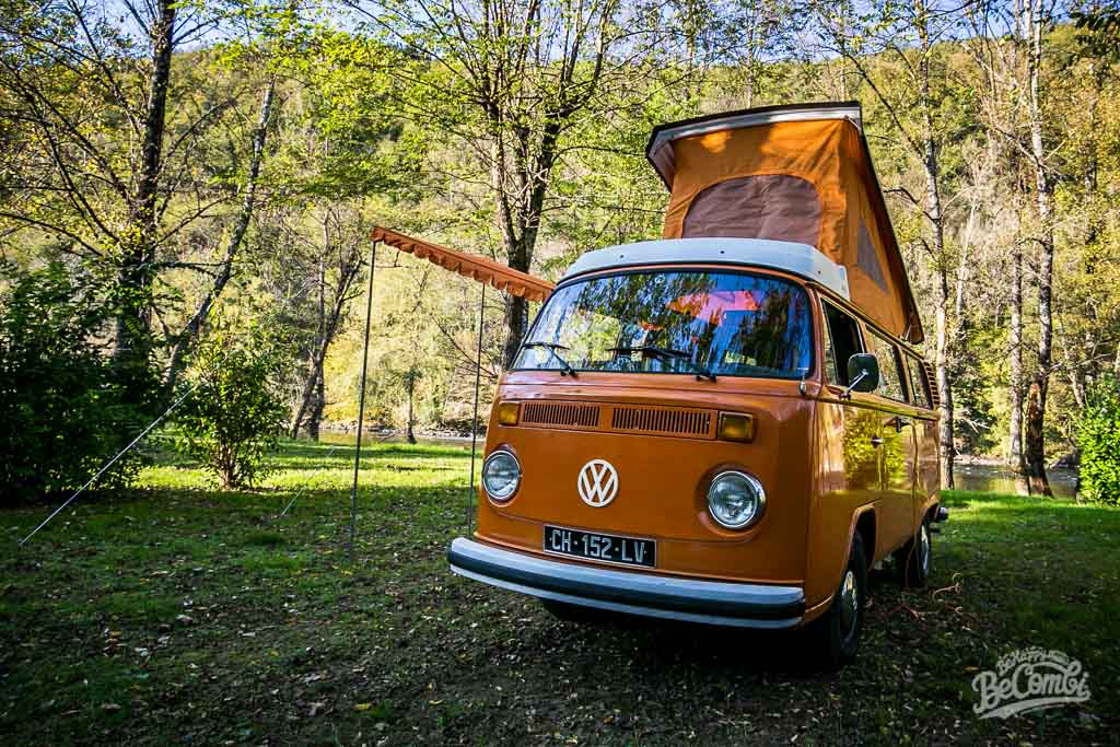 Fishing-trip en VW Combi en Corrèze | BeCombi