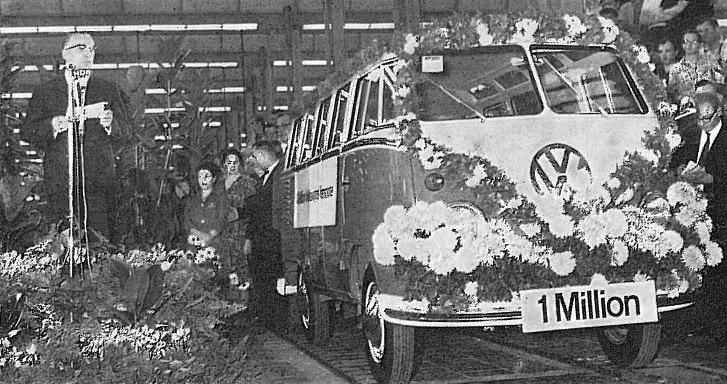 1 million d'utilitaires Volkswagen   BeCombi