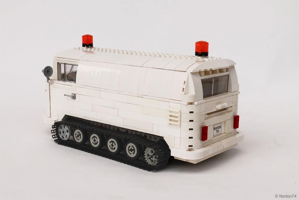 VW T1 SnowCat en Lego | BeCombi