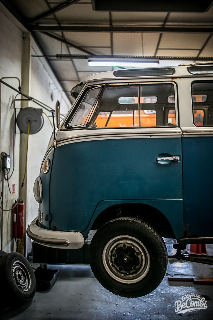 Entretien VW Combi chez Schmecko  BeCombi