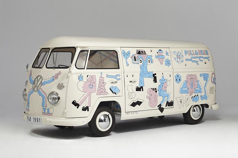VW Split par Kyle Platts pour Pull&Bear | Be Combi
