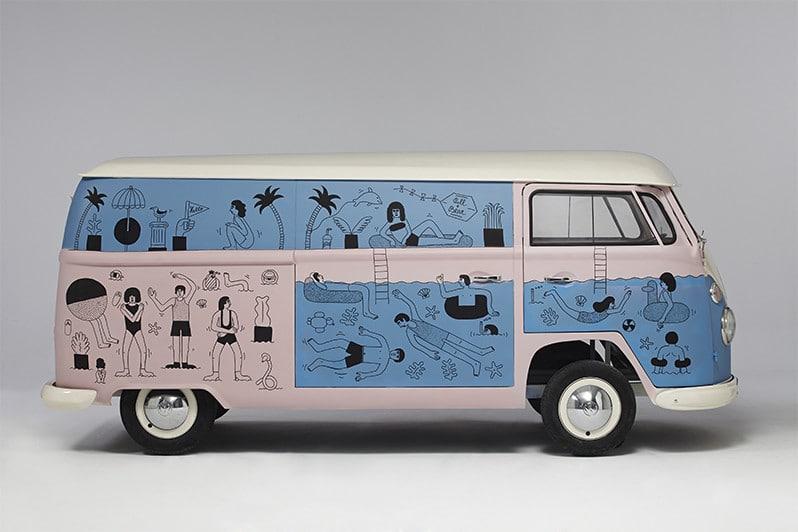 VW Split par Martina Pokova pour Pull&Bear | Be Combi