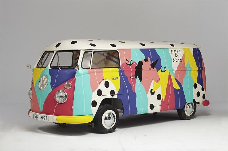 VW Split par Michela Picchi pour Pull&Bear | Be Combi