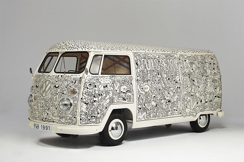 VW Split par Shoshobo pour Pull&Bear | Be Combi