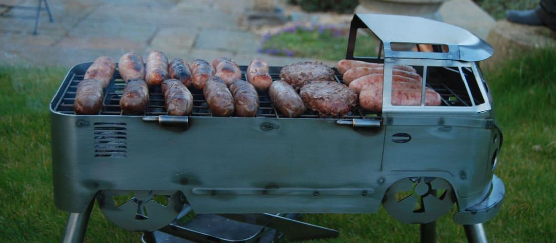 Le Busbecue, barbecue en forme de Combi | BeCombi