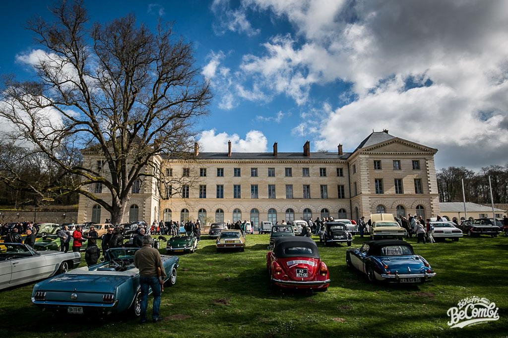Rassemblement d'Anciennes au Chateau de Grouchy | BeCombi