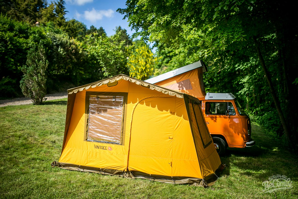 Tente Vintage Serial Kombi pour Vw Combi   BeCombi