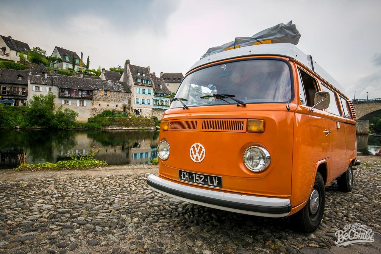 Le pont d'Argentat en VW Combi  | BeCombi