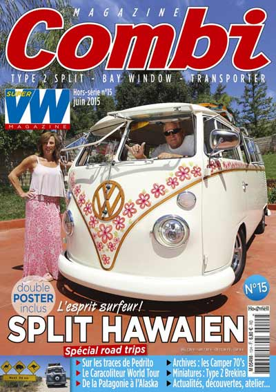Combi Magazine #15 : spécial road trips | BeCombi