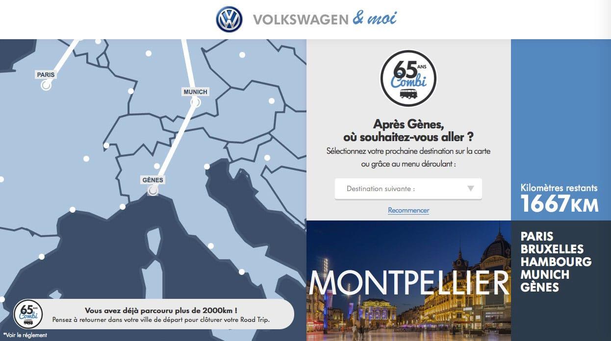Gagnez un road-trip en VW Combi | BeCombi