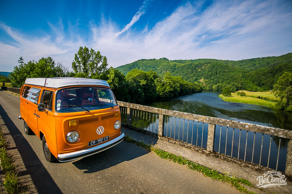 Fishing Trip en Corrèze en VW Combi | BeCombi