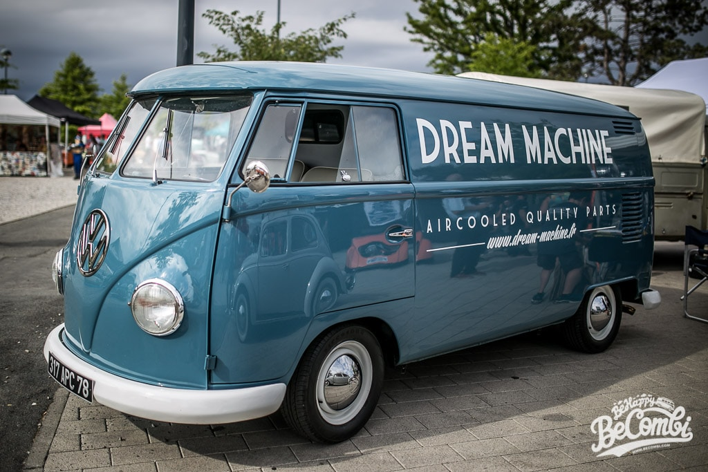 Dream Machine au Super VW Festival 2015 | BeCombi