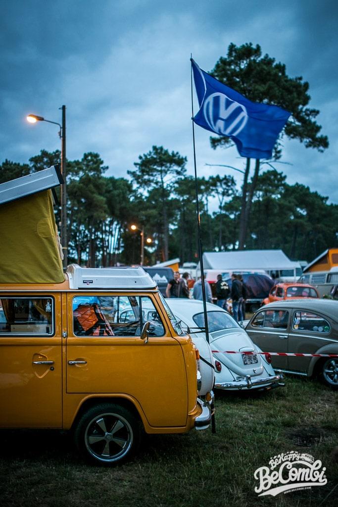 Au Camping du Super VW Festival 2015 | BeCombi
