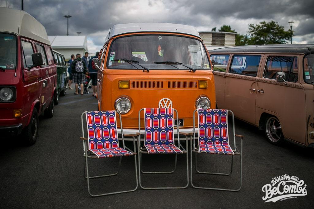3 fauteuils Vintage dénichés au Super VW Festival 2015 | BeCombi