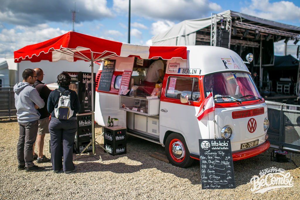 Le Combi Curry-Wurst au Super VW Festival 2015 | BeCombi