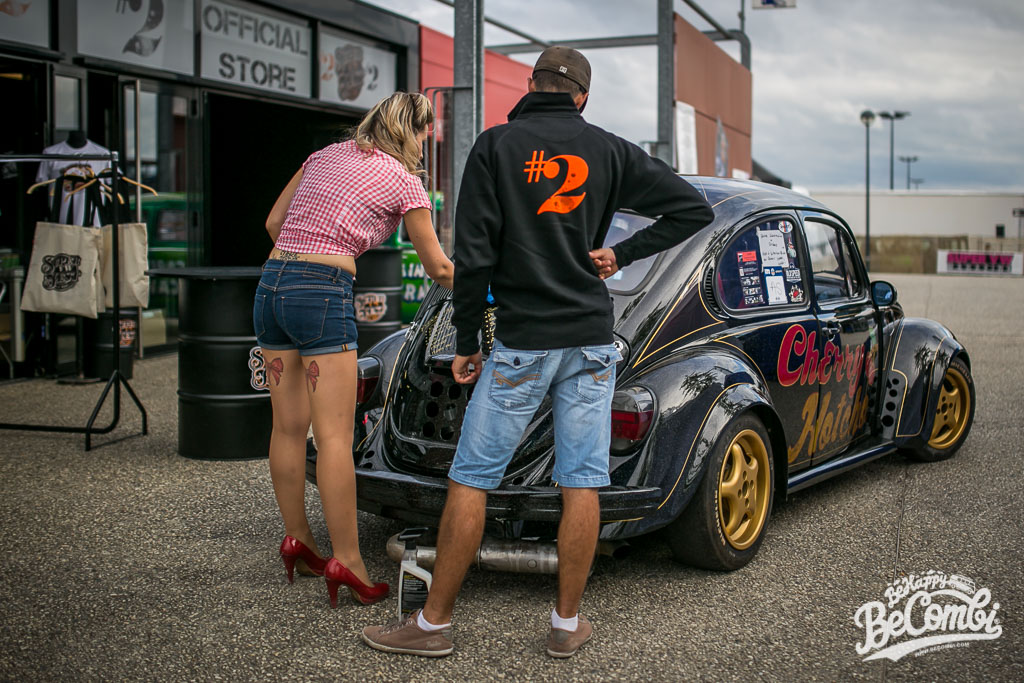 Alysson Hotcho au Super VW Festival 2015 | BeCombi