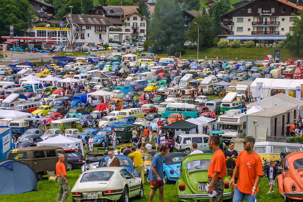 19e Meeting international VW de Chateau d'Oex (Suisse) | BeCombi