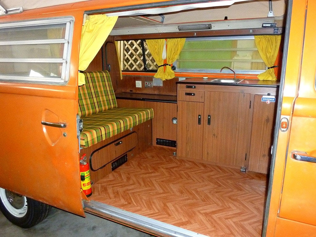 Le beau westy italien de stefano frederica be combi for Interieur westfalia