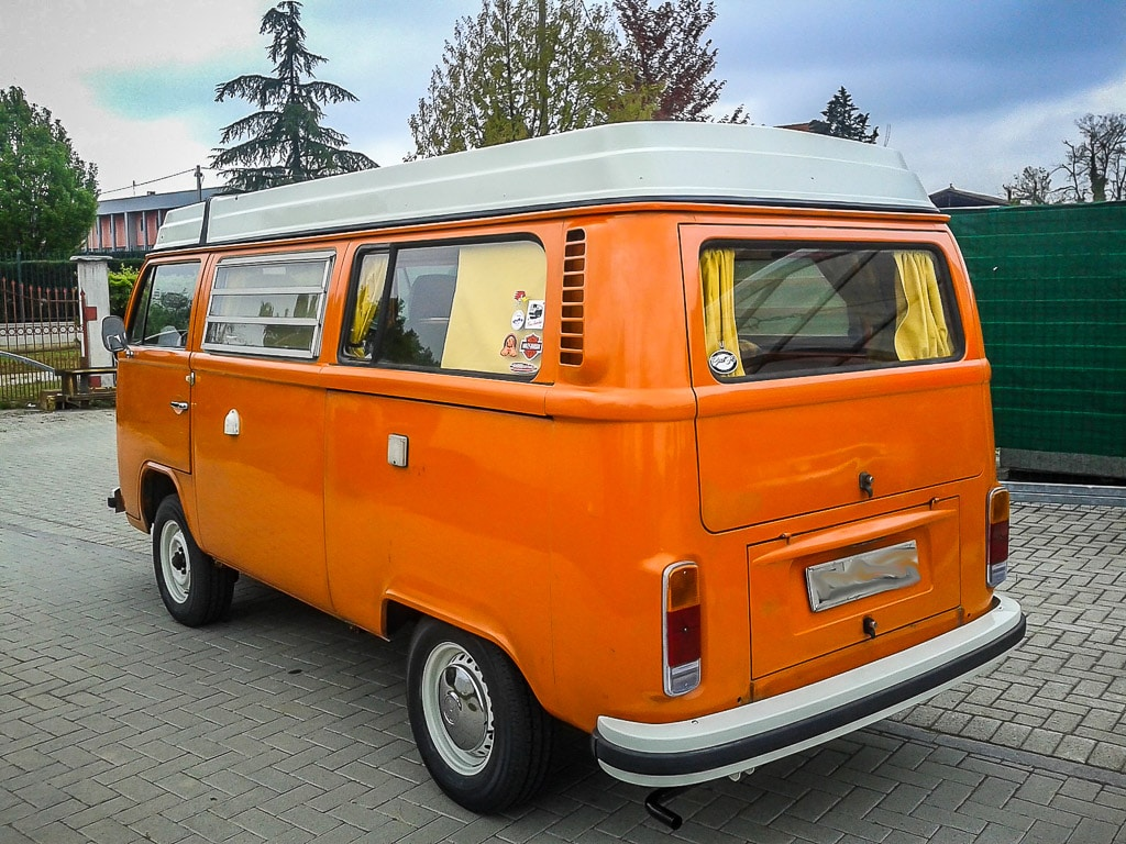 Le VW Combi Westfalia 1977 de Stefano | BeCombi