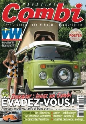 Combi Magazine #16 : spécial évasion