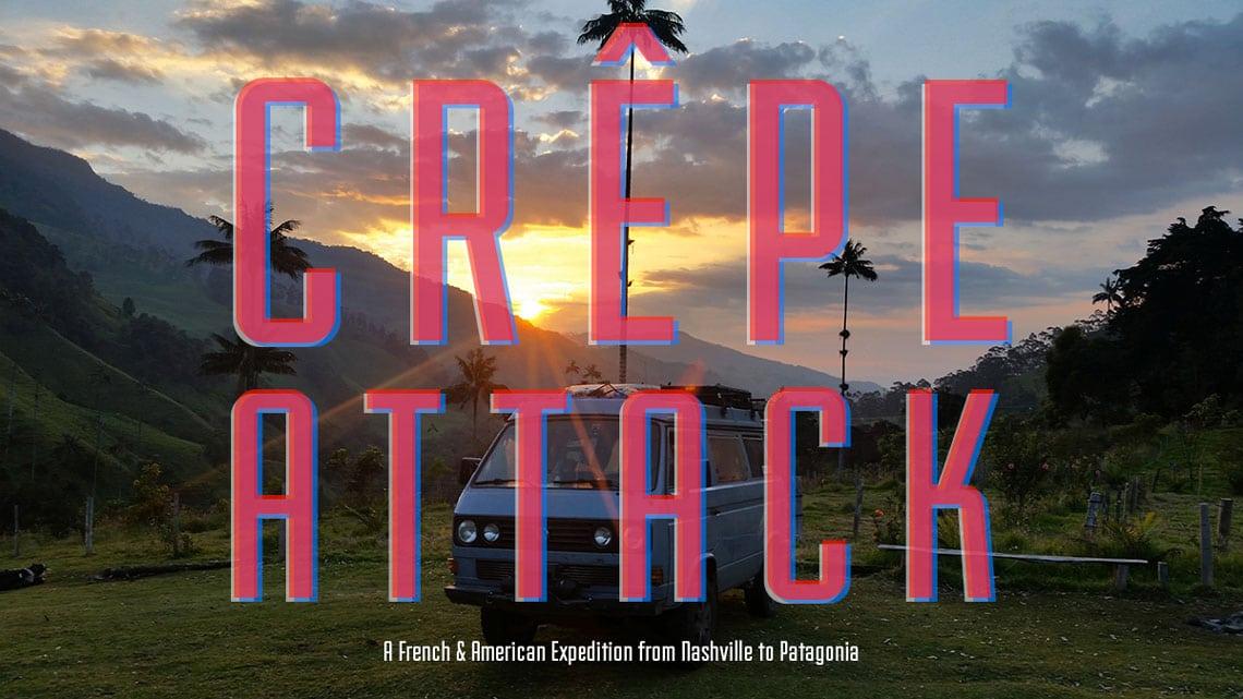 Crepe Attack : l'Amérique en VW T3 Syncro | BeCombi