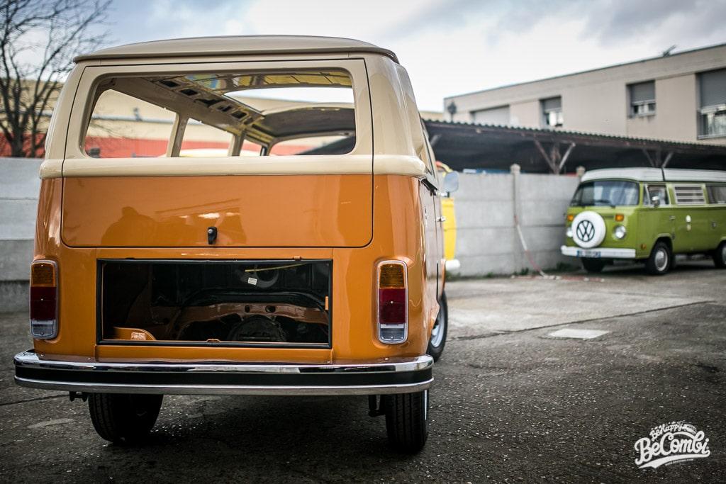 Baudouin VW Combi 1978 chez Schmecko | BeCombi