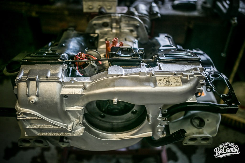 Le moteur Type 4 de Baudouin Combi VW de 1978 | BeCombi