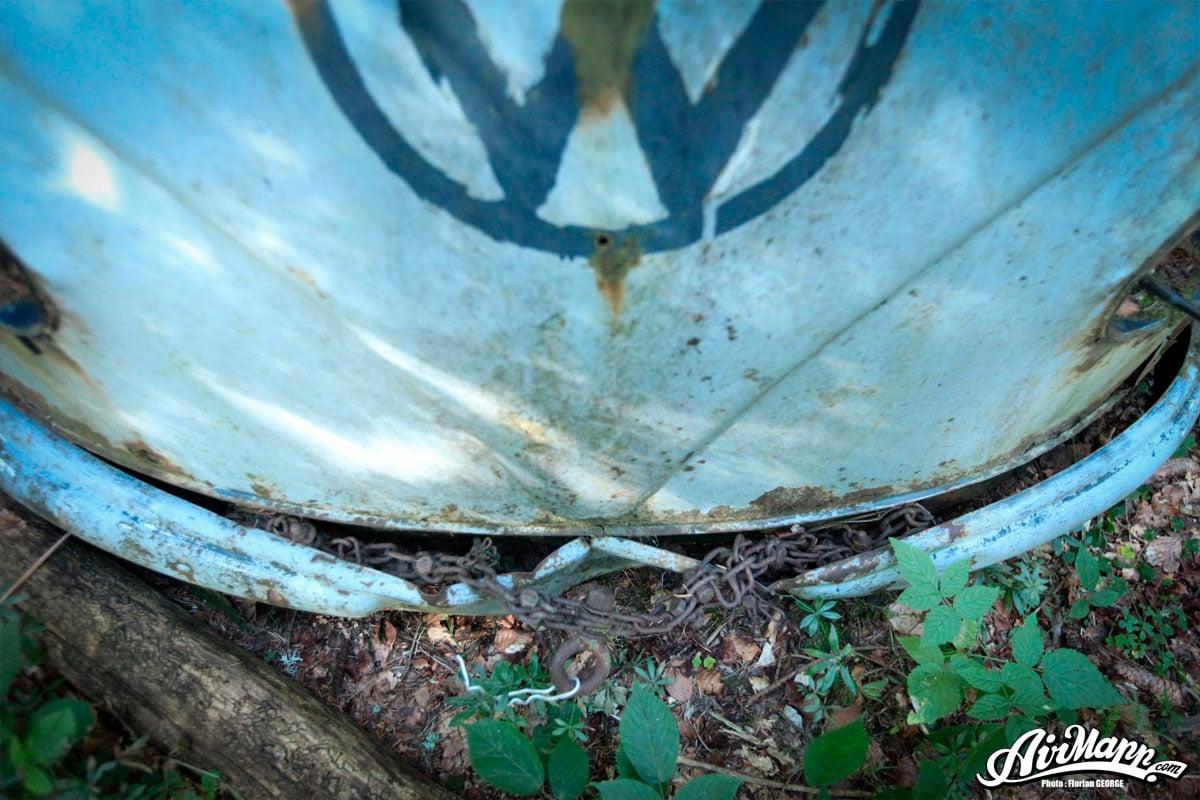 Résurrection : l'incroyable sauvetage d'un Combi de 1955   BeCombi