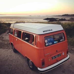 vwtype2 vanlife becombi bretagne coucherdesoleil vw