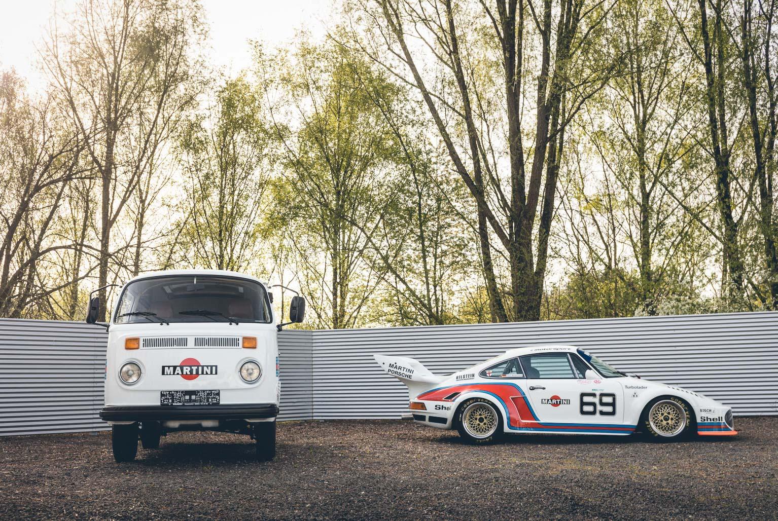 Duo Porsche et VW Combi Martini - Be Combi-11
