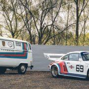 Duo Porsche et VW Combi Martini Une Be Combi 10