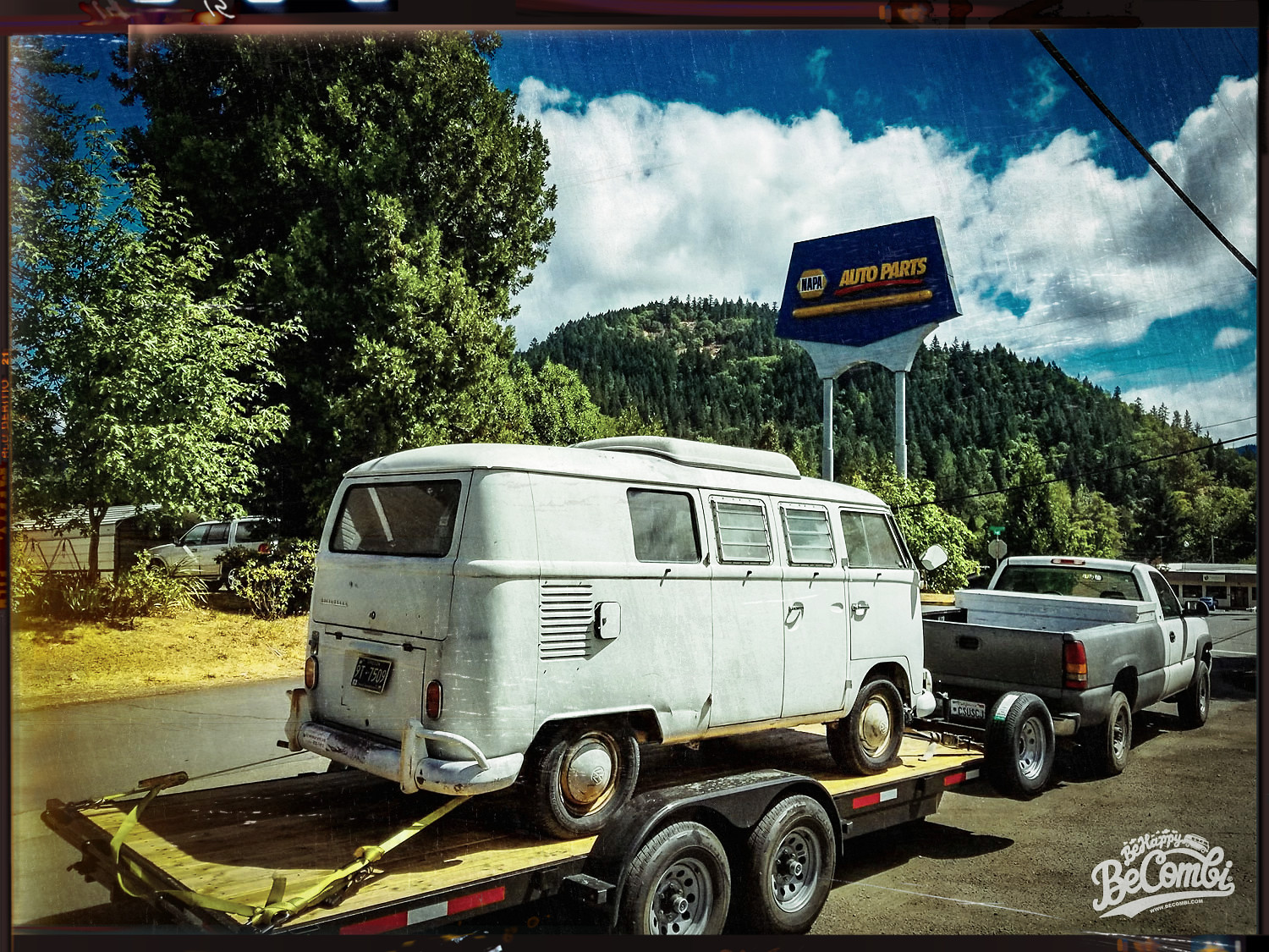Rocky VW Split Camper de 1966 - BeCombi