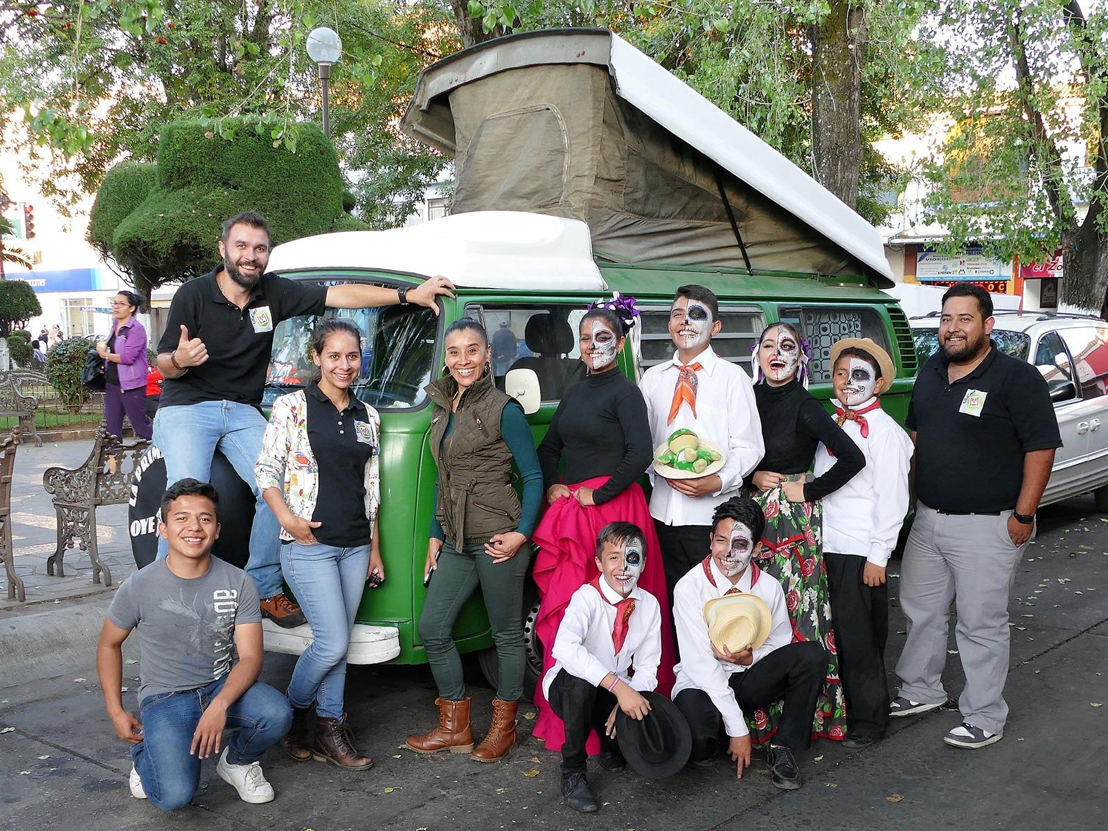 Fête des morts à Zacapu au Mexique