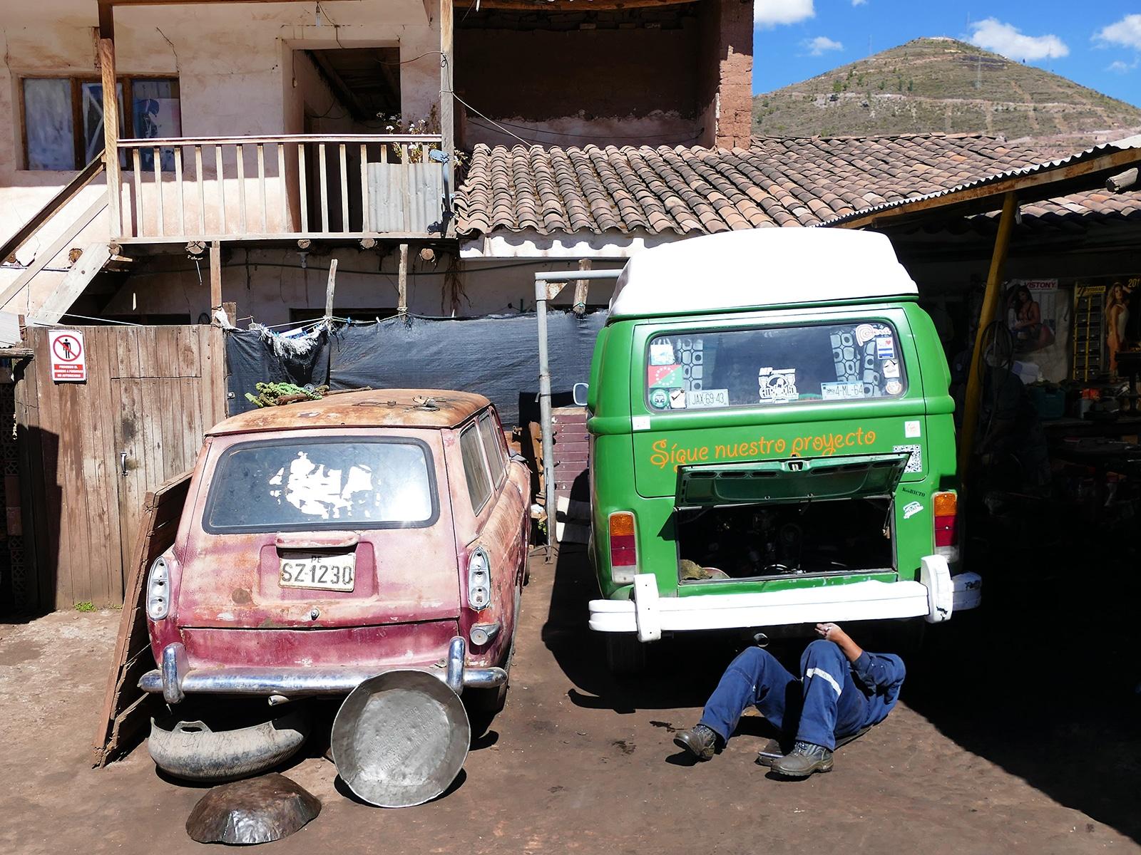 Petite révision à Cuzco au Pérou
