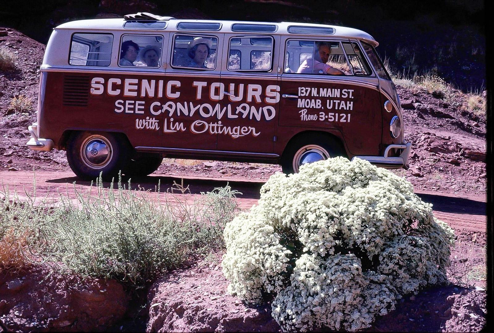 Lin Ottinger Canyon Land Scenic Tour VW Bus - BeCombi - Une-16