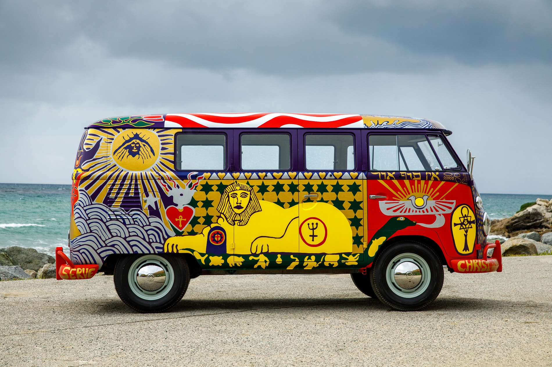 The Woodstock VW Bus 50 ans après - BeCombi-9
