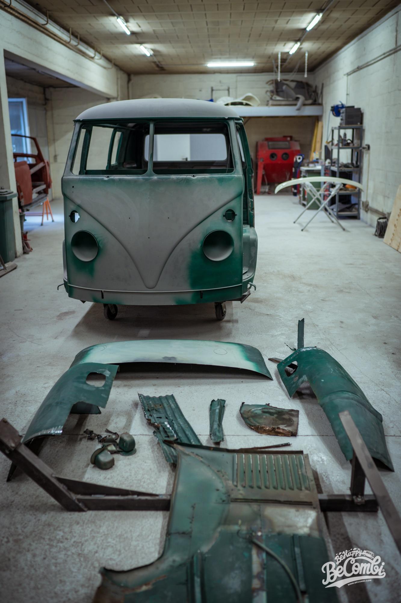 Carrosserie VW Split Rocky - BeCombi-5