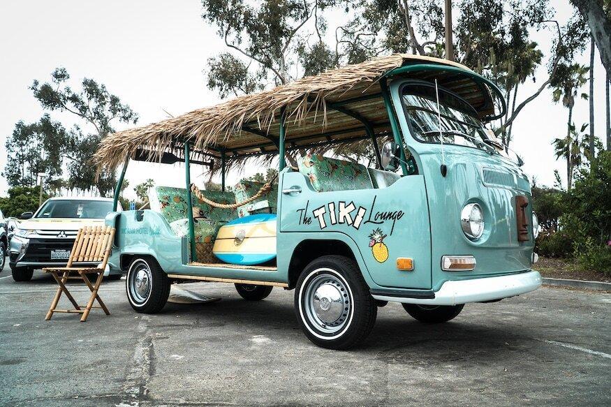 Le Volkswagen Tiki Lounge Bus