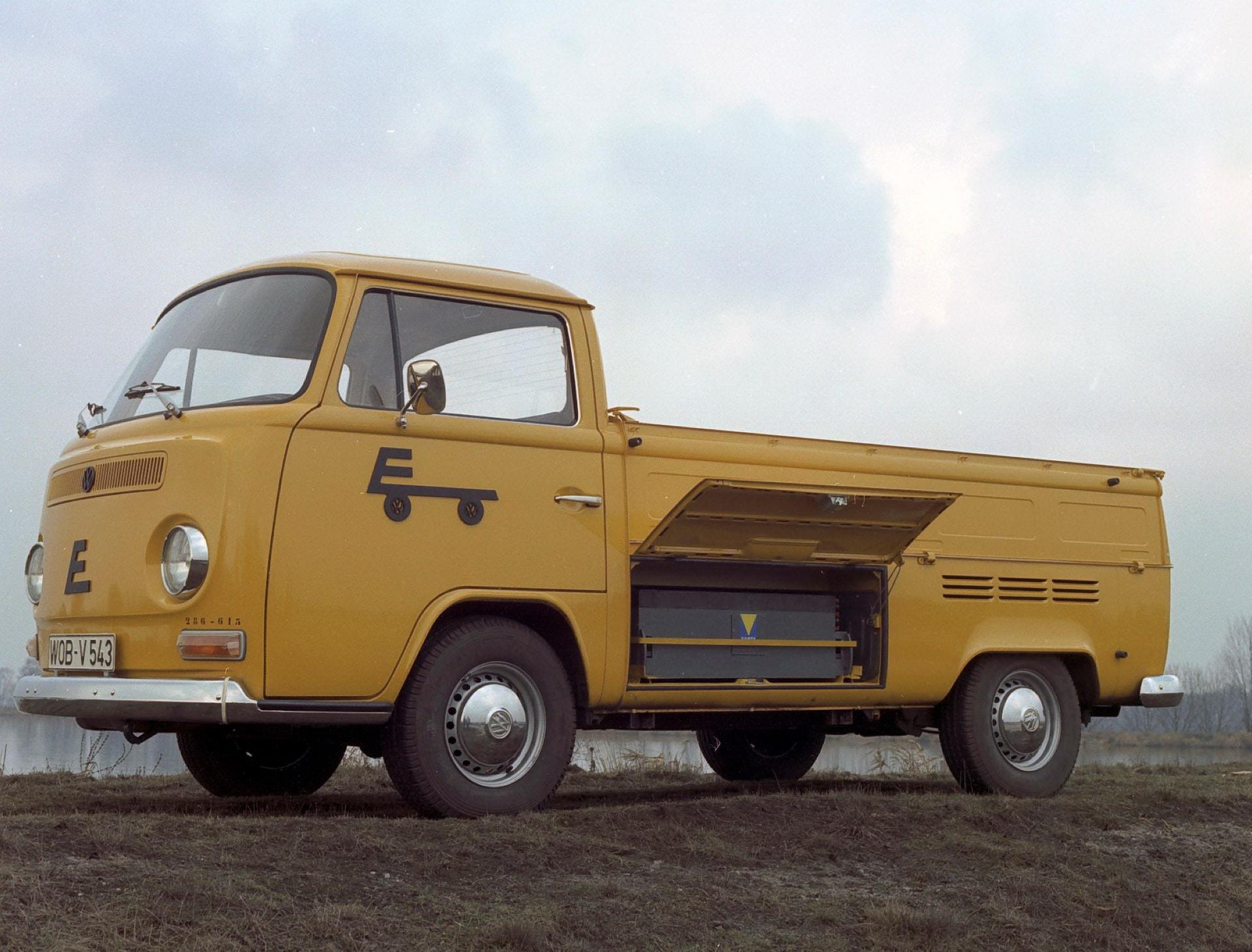VW Transporter T2 Electrique 1972