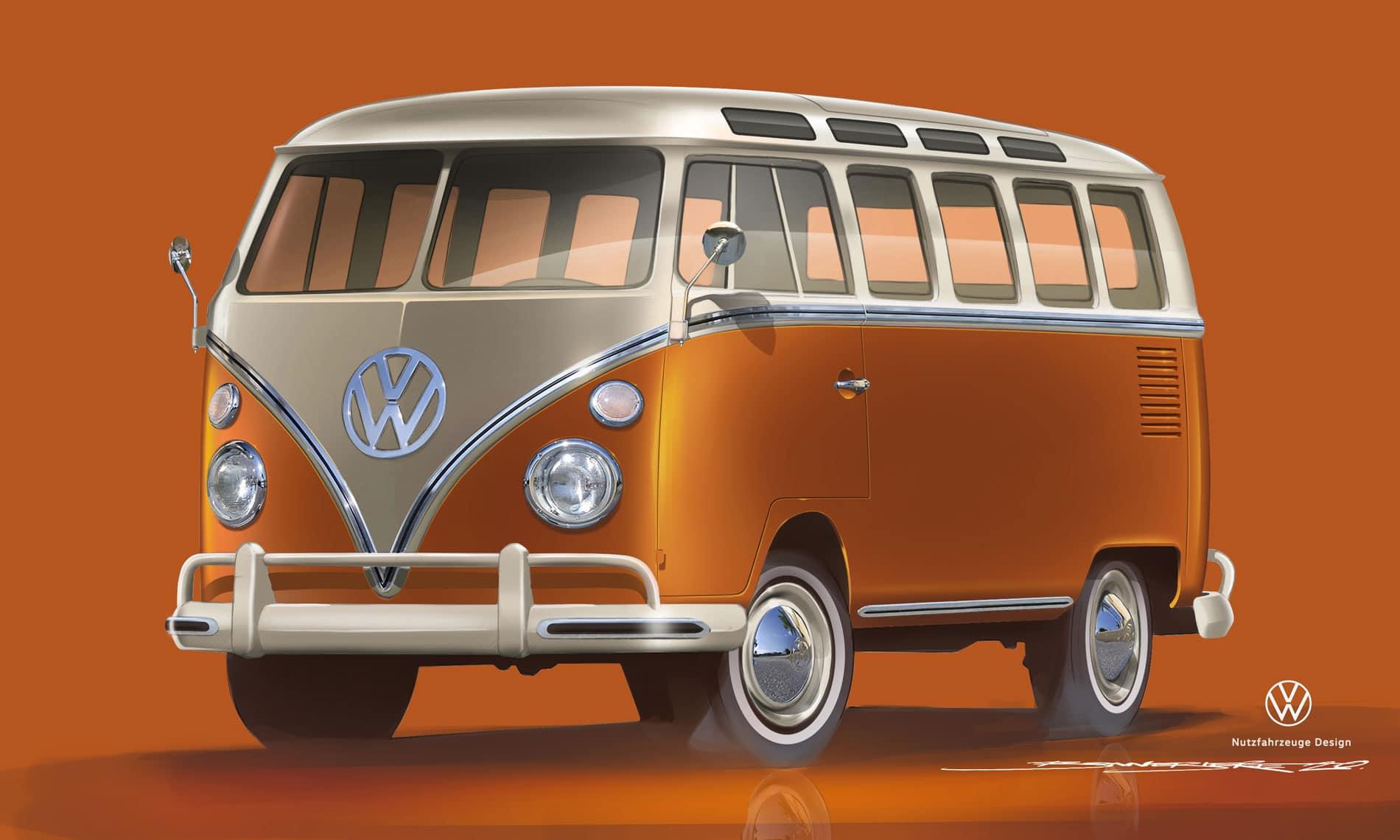 Techno Classica 2020 : le VW e-BULLI (Combi électrique)