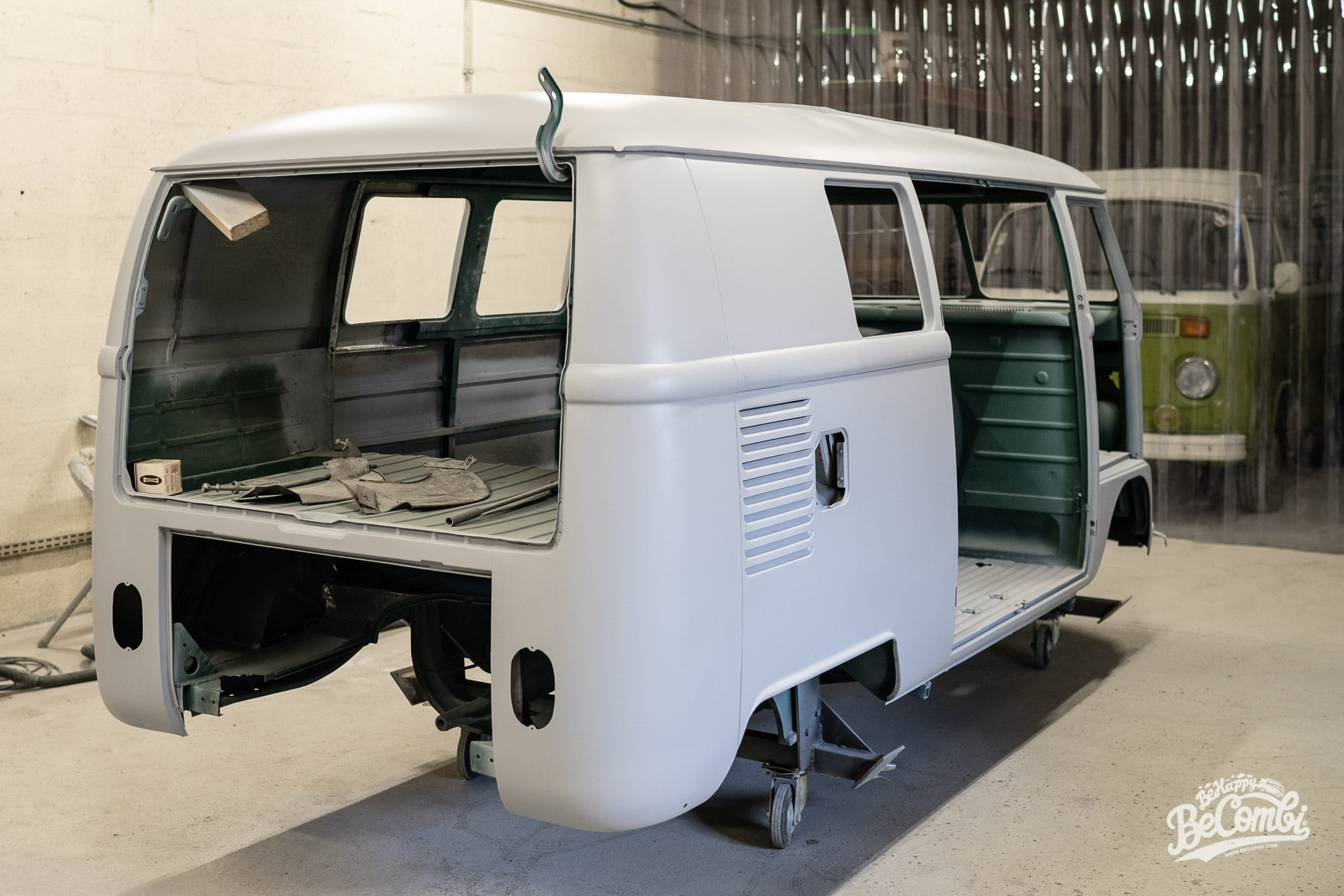 Travaux de carrosserie VW Split Rocky BeCombi 13